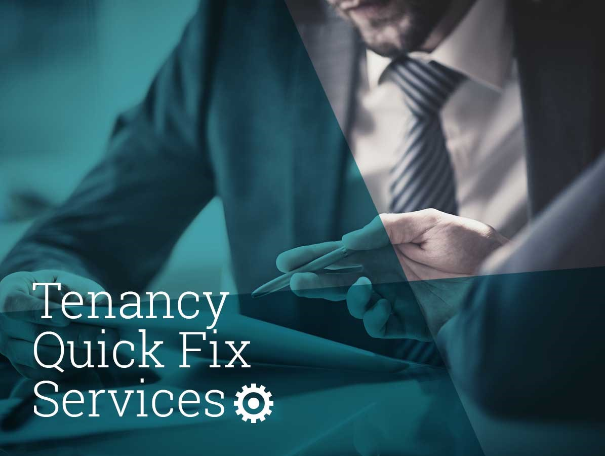 Tenancy Quick Fix Service from The Landlord Engine